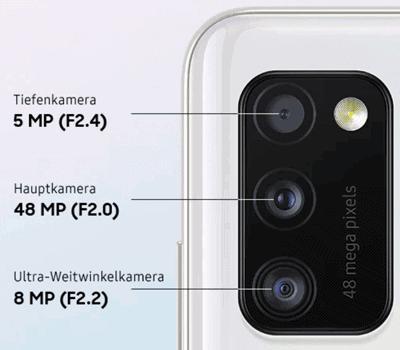 Kamera vom Samsung Galaxy A41