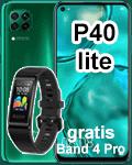 congstar - Huawei P40 lite mit Fitnessband