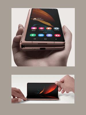congstar - Samsung Galaxy Z Fold2 5G - Falt-Smartphone