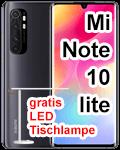 congstar - Xiaomi Mi Note 10 lite mit gratis LED Tischleuchte