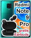 congstar - Xiaomi Redmit Note 9 Pro mit gratis Earbuds