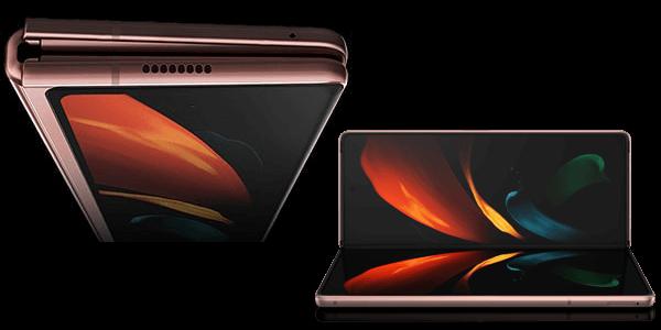 Display vom Samsung Galaxy Z Fold2