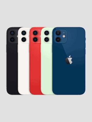 congstar - Apple iPhone 12 - alle Farben (Ansicht hinten)