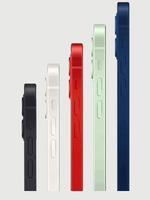 congstar - Apple iPhone 12 - alle Farben (Ansicht seitlich)