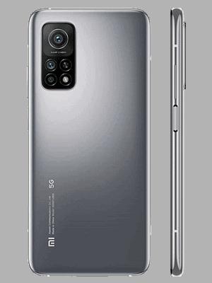 congstar - Xiaomi Mi 10T 5G - grau (lunar silver) / hinten