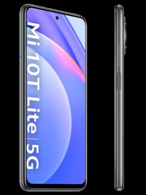 congstar - Xiaomi Mi 10T Lite 5G - grau (pearl gray) / seitlich