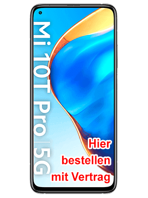 congstar - Xiaomi Mi 10T Pro 5G - hier bestellen