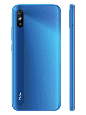 congstar - Xiaomi Redmi 9AT - blau (sky blue) / hinten