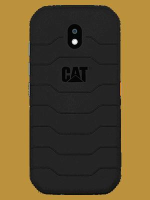 congstar - CAT S42 - schwarz / hinten