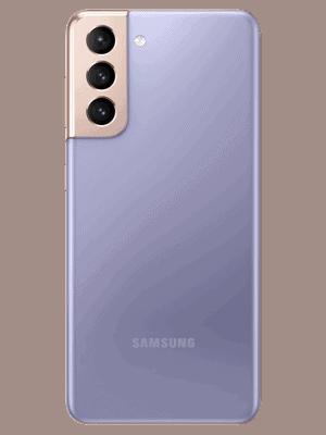 congstar - Samsung Galaxy S21 5G - phantom violet - hinten