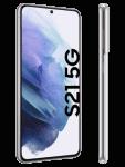 congstar - Samsung Galaxy S21 5G - weiß / phantom white - seitlich