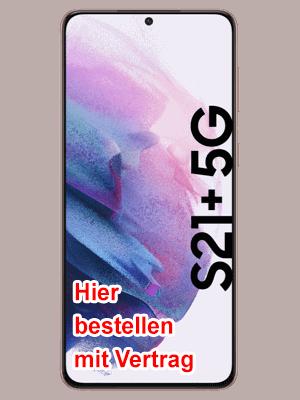 congstar - Samsung Galaxy S21+ 5G - hier bestellen