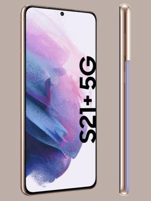 congstar - Samsung Galaxy S21+ 5G - phantom violet / seitlich