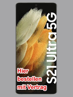 congstar - Samsung Galaxy S21 Ultra 5G - hier bestellen