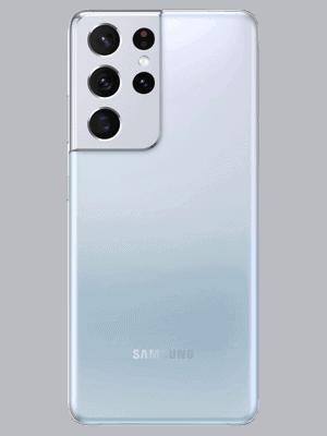 congstar - Samsung Galaxy S21 Ultra 5G - phantom silver / silber - hinten