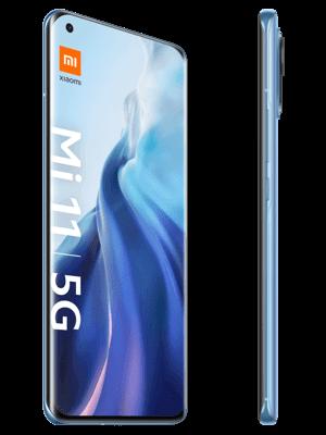 congstar - Xiaomi Mi 12 5G (horizon blue / blau - seitlich)