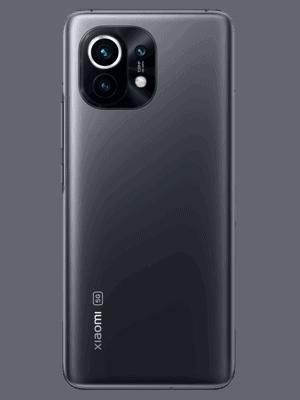 congstar - Xiaomi Mi 12 5G (midnight gray / grau - hinten)