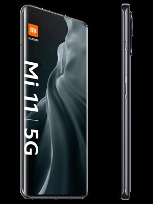 congstar - Xiaomi Mi 12 5G (midnight gray / grau - seitlich)