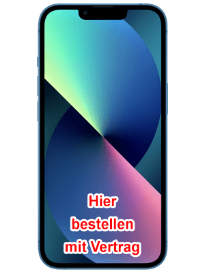 congstar - Apple iPhone 13 - hier kaufen / bestellen