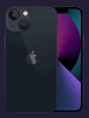 congstar - Apple iPhone 13 mini - mitternacht (schwarz)