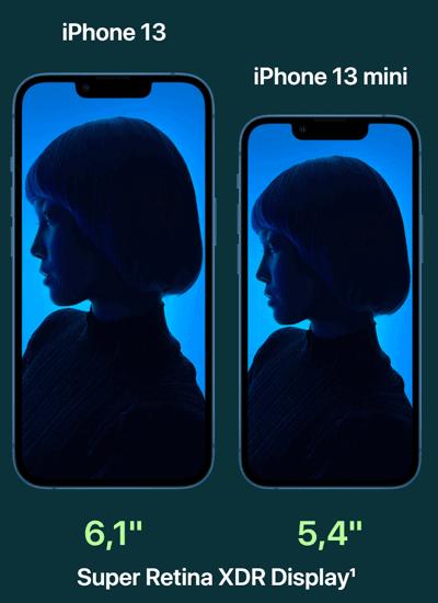 Display vom Apple iPhone 13 mini